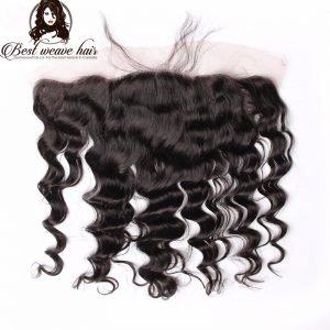 Lace Frontal 13X6 de Cheveux Loose Wave