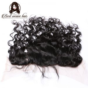 Lace Frontal 13X6 de cheveux Vagué Naturel-Natural Wave