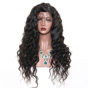 Perruque-100% -Remy-de-texture- loose- wave