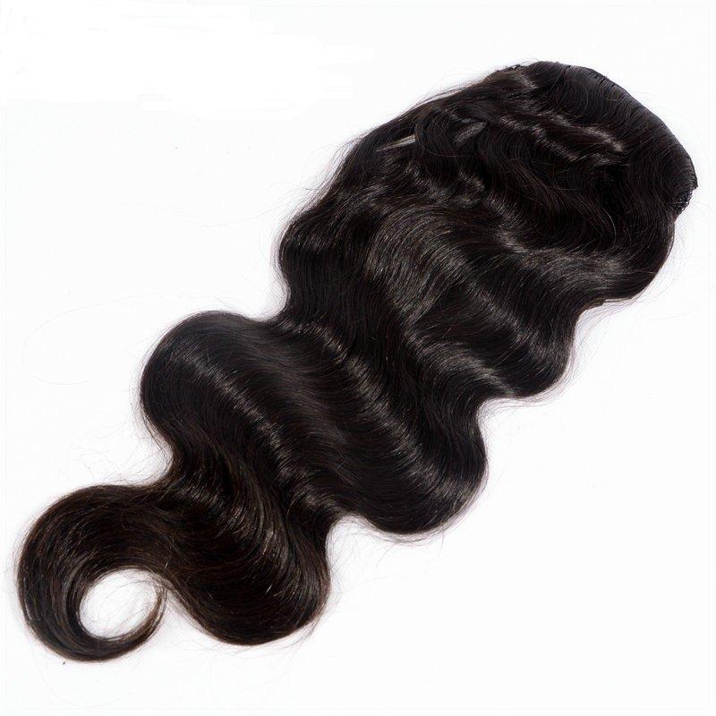 Ponytail-body-wave-Human-Hair