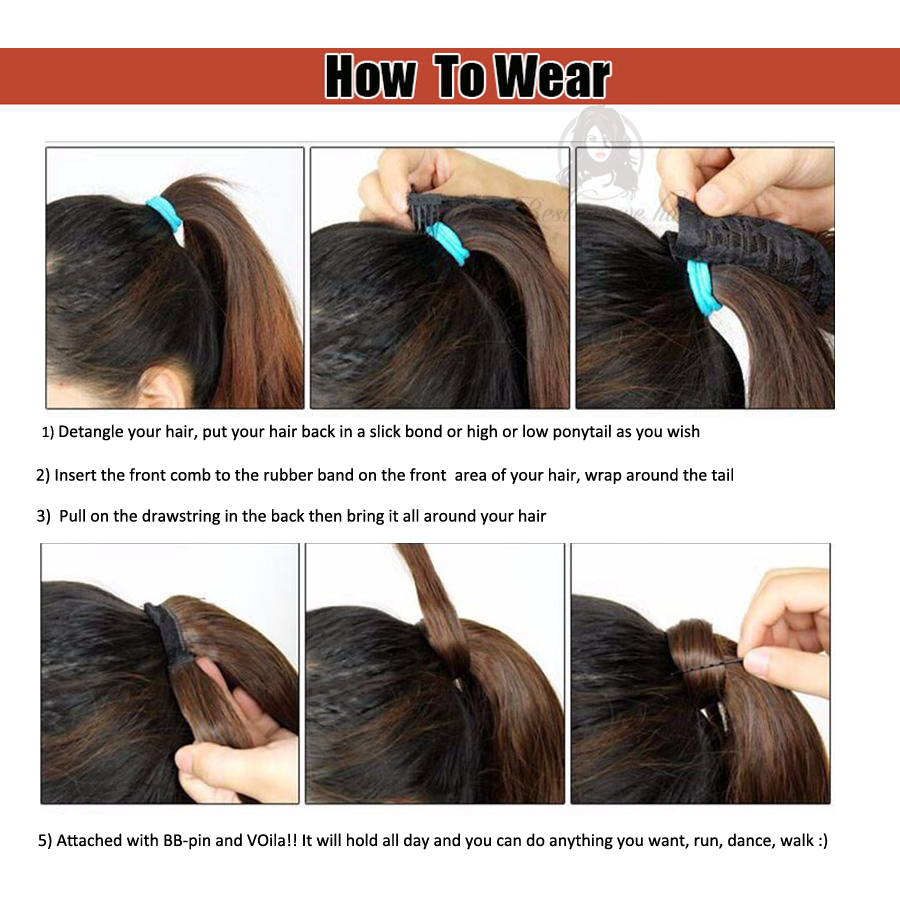 How-To-Wear-Drawstring-Ponytail-Human-Hair