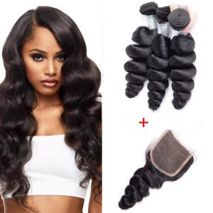 3-Lot-Tissage-Loose-Wave-plus-Closure-4X4-Canada