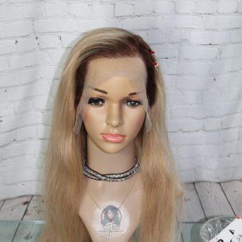 Perruque-Blonde-Ombrée-Cheveux-Naturelle-18po-Canada