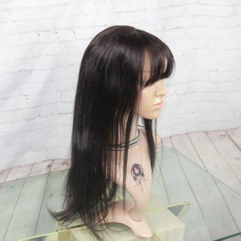 Perruque-Cheveux-Naturels-Humains-AVec-Frange-18pouces